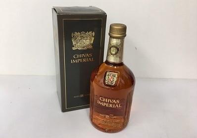 シーバスインペリアル 18年 (CHIVAS IMPERIAL 18 years old) 古酒 お酒買取 神戸 元町 三宮