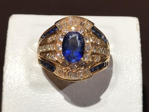 サファイア sapphire 指輪 リング 宝石 ジュエリー ダイヤ 金 ゴールド