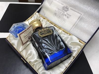プリンスユーベル セーブルクリスタル 青 ブランデー お酒 高価買取 出張買取