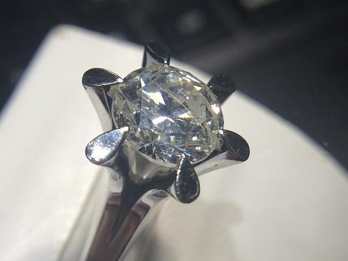 プラチナリング ダイヤモンド 1.3ct Pt900 ノンブランドジュエリー買取 宅配買取