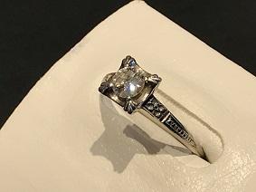 ダイヤモンド リング プラチナ 0.30ct ジュエリー買取 福岡 ダイヤモンド買取 天神 博多 大名