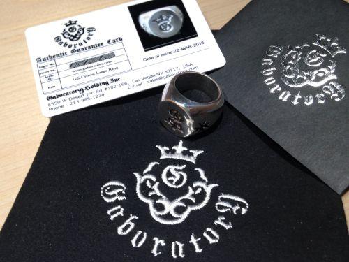 Gaboratory(ガボラトリー)G&Crown Large Ring(G&クラウン ラージシグネットリング)