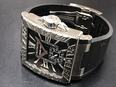 ロジェ・デュブイ買取 アクアマーレ 888本限定 腕時計高価買取 MARUKA七条店
