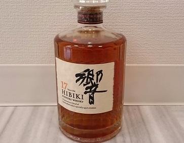 サントリー ブレンデッド ウイスキー 響17年 700ml (SUNTORY HIBIKI) お酒買取 神戸 三宮 元町