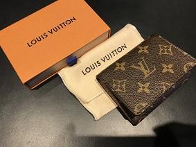 LOUIS VUITTON ルイヴィトン アンヴェロップ カルト ドゥヴィジット M63801 ブランド買取 福岡 ルイヴィトン買取 天神 大名 博多 赤坂 薬院