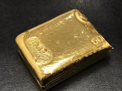 K24 純金 塊 地金 高価買取 七条店