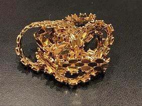 金 ネックレス K18 750 アクセサリー 23.0g 貴金属買取 福岡 高い 手数料なし 天神 博多 大名