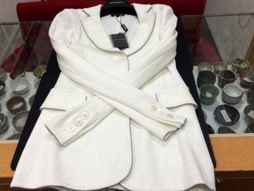 エンポリオアルマーニ(Armani)ワンピース コットン ホワイト レディース 美品 マルカ 出張買取り