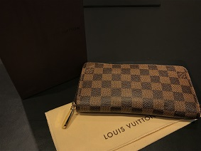 LOUIS VUITTON ルイヴィトン ジッピーウォレット ダミエ ブランド買取 福岡 ルイヴィトン買取 天神 博多 大名 赤坂 薬院