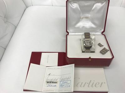カルティエ(Cartier) タンクフランセーズ SM SS×YG W51007Q4 カルテイエ買取 神戸 三宮 元町