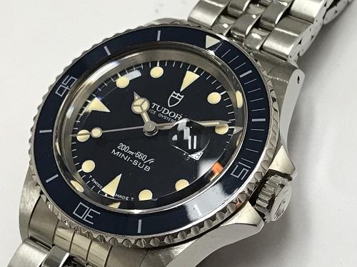 チュードル(TUDOR) ミニサブ 73090 SS 腕時計買取 京都大宮店