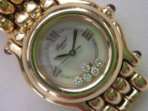 Chopard(ショパール)買取 ハッピースポーツ買取 時計買取 750YG出張買取