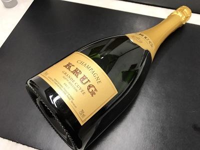 KRUG クリュッグ グランド・キュヴェ ブリュット シャンパン お酒 高価買取 出張買取