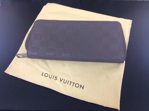 ルイヴィトン(LOUIS VUITTON)買取 ジッピーウォレット ヴェルティカル アンフィニ MARUKA 京都北山店 ヴィトンの財布をお買取り!ブランド買取