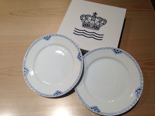 ロイヤルコペンハーゲン (Royal Copenhagen)買取 プレート 22cm 宅配買取 ブランド食器買取
