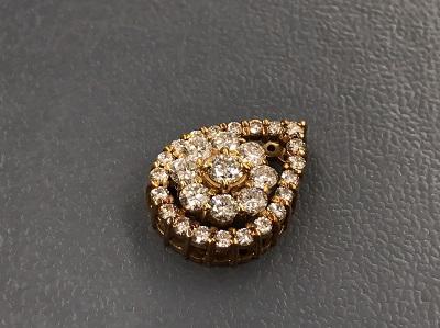 ペンダントトップ K18 金 メレダイヤモンド 1.002ct 宝石 高価買取 七条店