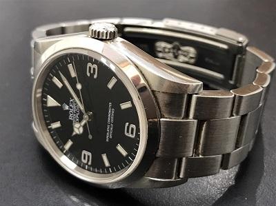 ROLEX ロレックス エクスプローラー1 Ref.114270 本体のみ 腕時計 高価買取 七条店