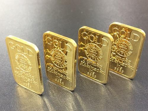 インゴット K24 純金 9999 貴金属 10グラム ×4枚 資産 金製品 金塊 MARUKA 京都北山店 金を売るならマルカで!