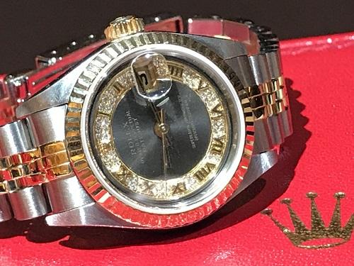 ロレックス(ROLEX) 79173MR 時計買取 ブランド デイトジャスト 四条店