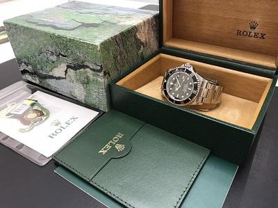 ROLEX ロレックス シードゥエラー Ref.16600 腕時計 高価買取 七条店