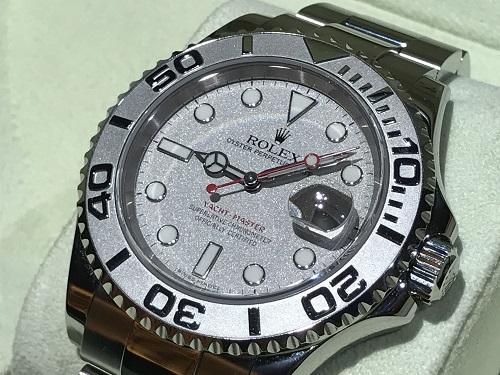 ロレックス(ROLEX) ヨットマスター ロレジウム 時計 ブランド 買取 四条 烏丸 河原町