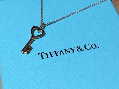 ティファニー TIFFANY&CO ハートキーネックレス 750 ジュエリー 買取 渋谷