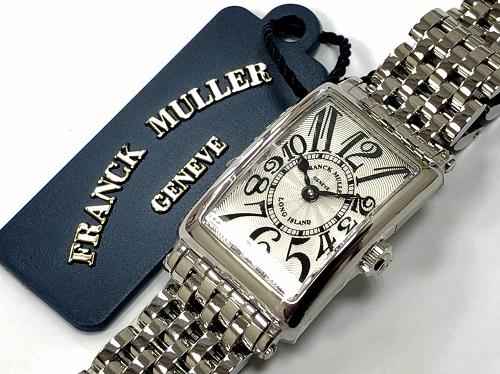 フランクミュラー(FRANCK MULLER)買取 ロングアイランド 802QZ SS 京都大宮店
