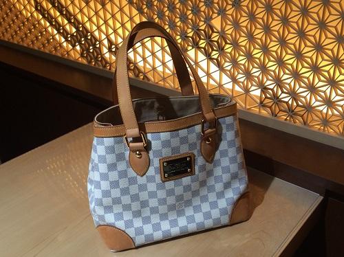 ルイヴィトン(Louis Vuitton) ハムプステッドPM N51207 ダミエアズール 買取 渋谷