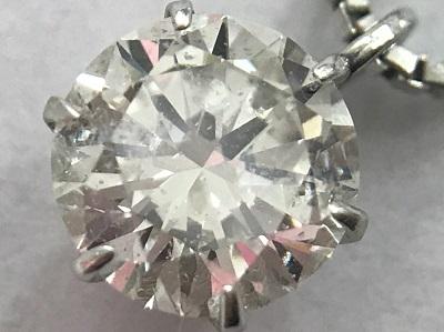 ダイヤモンド ペンダント 0.593ct PT900 PT850 ダイヤモンド買取 神戸 三宮 元町