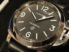 パネライ買取 福岡 時計買取 天神 博多 大名 ルミノール ベース ロゴ PAM00000 高価買取