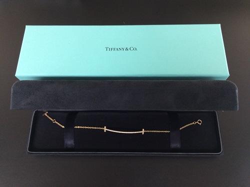 ティファニー(Tiffany)買取 Tスマイル ダイヤ ブレスレット 750 レディース MARUKA 京都北山店 ブランド宝石・ジュエリーを高く売るならマルカ!