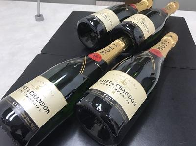 MOET & CHANDON モエ・エ・シャンドン ブリュット シャンパン 高価買取 出張買取