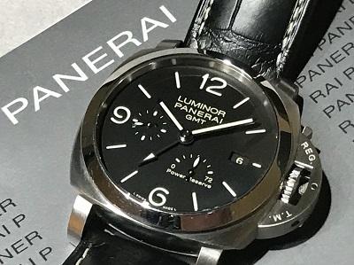 PANERAIパネライ買取 ルミノールGMT1950 3デイズ PAM00312 時計買取