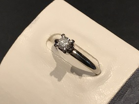ダイヤモンド買取 福岡 プラチナ買取 天神 博多 宝石買取 0.25カラット 指輪買取