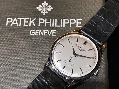 パテックフィリップ(PATEK PHILLIPE)買取カラトラバ Ref.5196/1G-001