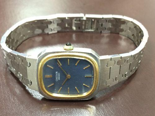 クレドール(SEIKO)買取 レディースウォッチ 時計買取 マルカ 西日本センター 宅配買取高額査定