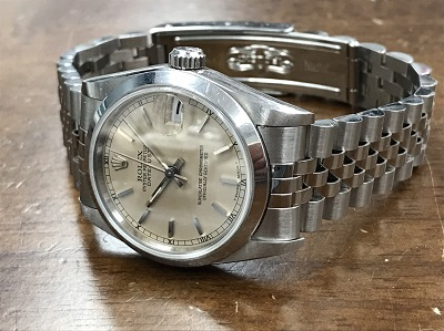 ROLEX ロレックス買取り デイトジャスト買取り ボーイズ Ref.68240 腕時計 高価買取 七条店