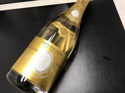 LOUIS RODERER ルイ・ロデレール買取り CRYSTAL クリスタル シャンパン買取り お酒買取り 出張買取