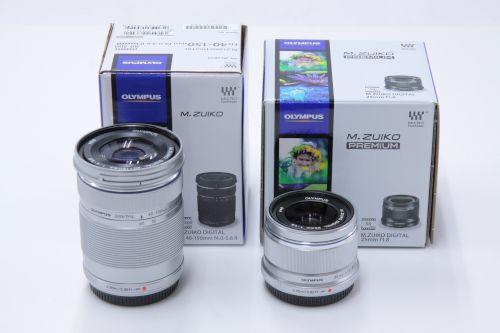 OLYMPUS オリンパス買取 M.ZUIKO DIGITAL ED 40-150mm f4.0-5.6/25mm f1.8 レンズ買取 京都