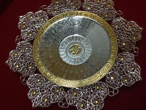 中国製 皿 中国骨董品・工芸品買取 Au Ag 保証書付き 美術品買取MARUKA
