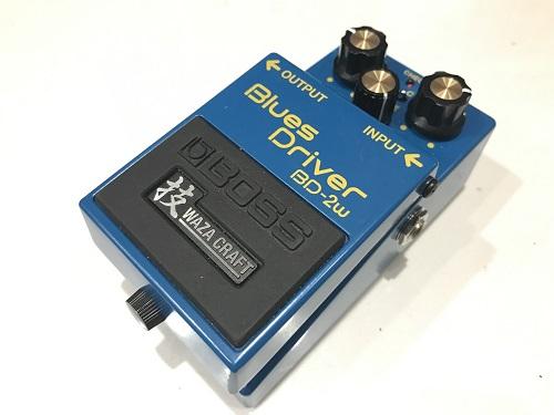 BOSS ボス BD-2W 買取 Blues Driver 買取 エフェクター 買取 楽器買取 京都 中古楽器