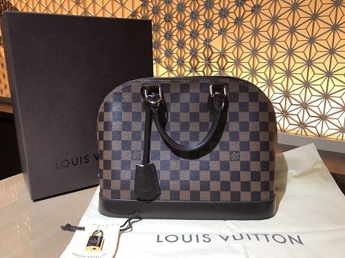 ルイヴィトン買取 Louis Vuitton アルマPM N53151 ダミエエベヌ ブランド買取 渋谷
