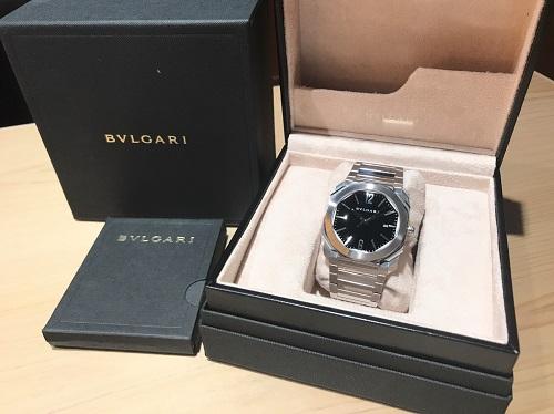 ブルガリ買取 BVLGARI オクト BGO41BS SS AT 時計買取 渋谷