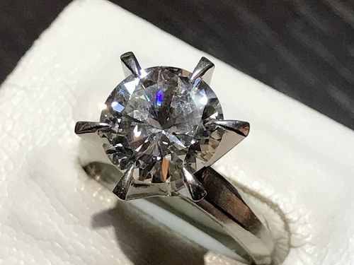 指輪 リング ダイヤ 宝石 プラチナ 買取 四条 烏丸 河原町 京都