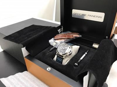 OFFICINE PANERAI買取り ルミノールマリーナ買取り PAM00048 腕時計買取り 高価買取 七条店