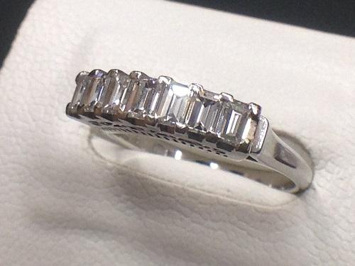プラチナ ダイヤモンド リング Pt900 1.03ct 渋谷 高価買取 MARUKA
