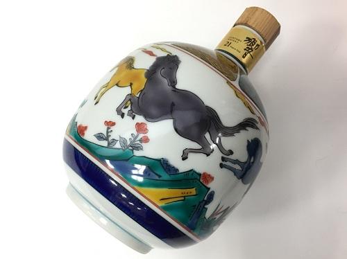 サントリー 響21年 九谷焼 陶器ボトル お酒買取 ウイスキー買取 京都 四条 大宮 西院