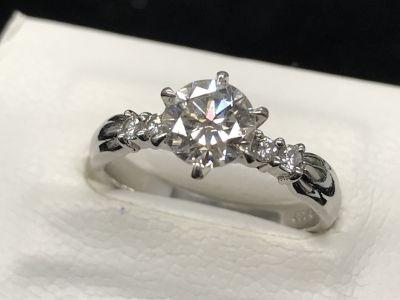 ダイヤモンド買取 1.037ct 0.11ct プラチナ台 ダイヤ高く売るなら大阪難波心斎橋のMARUKA