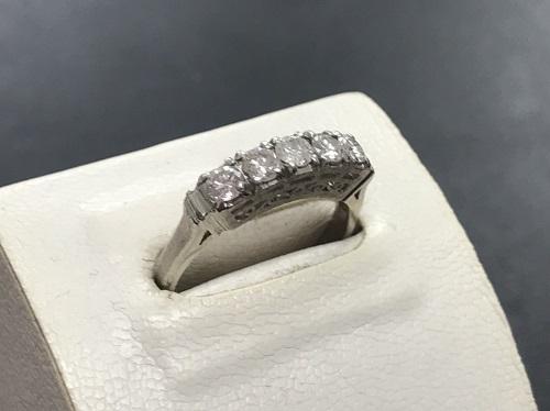 ダイヤモンド買取 Pt900 0.75ct 4.9g 宝石 四条 買取