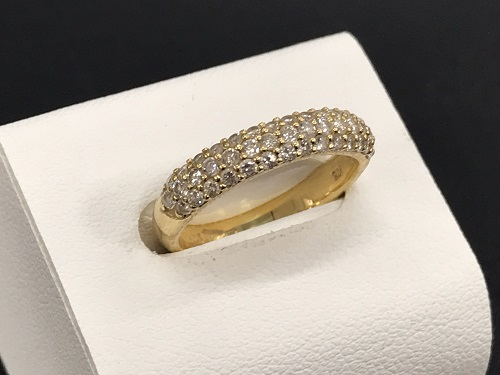 ダイヤモンド買取 K18 0.50ct 2.9g 宝石 四条 買取